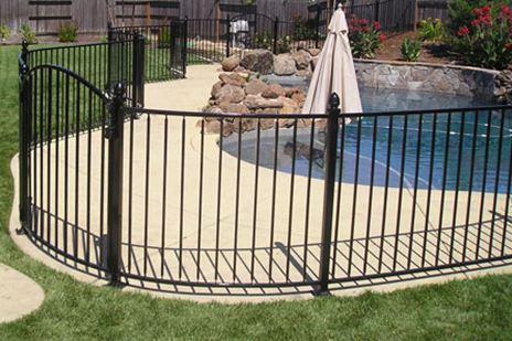 Albuquerque Wrought Iron Pool Fence